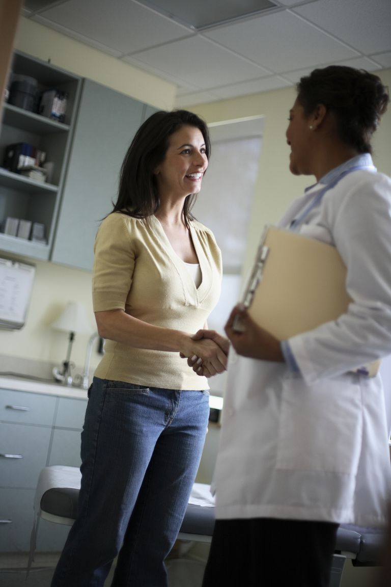 Patient Thanking Doctor