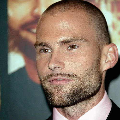 Male Celebrites And Actors With Shaved Heads - Bald head hairstyles