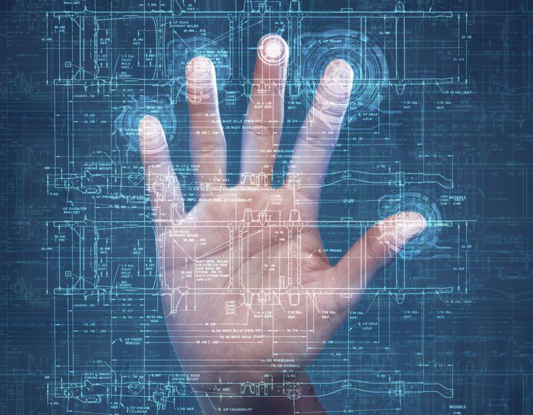 Fingerprints on a Scanner
