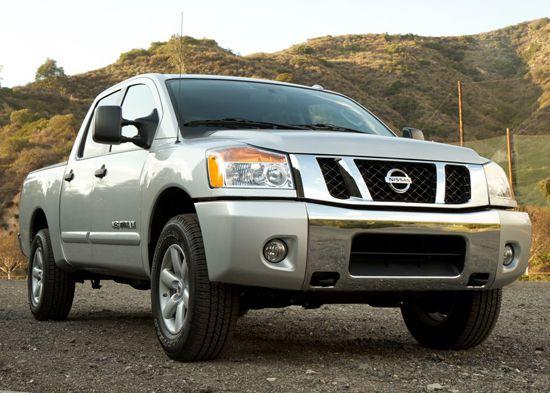 2011 Nissan Titan 4x4 Truck