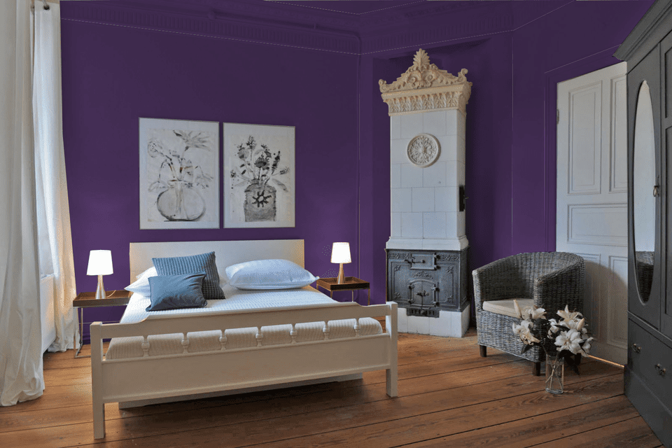 purple paint colors for bedrooms. Tulip Purple from Pratt  Lambert 10 Great Pink and Paint Colors for the Bedroom