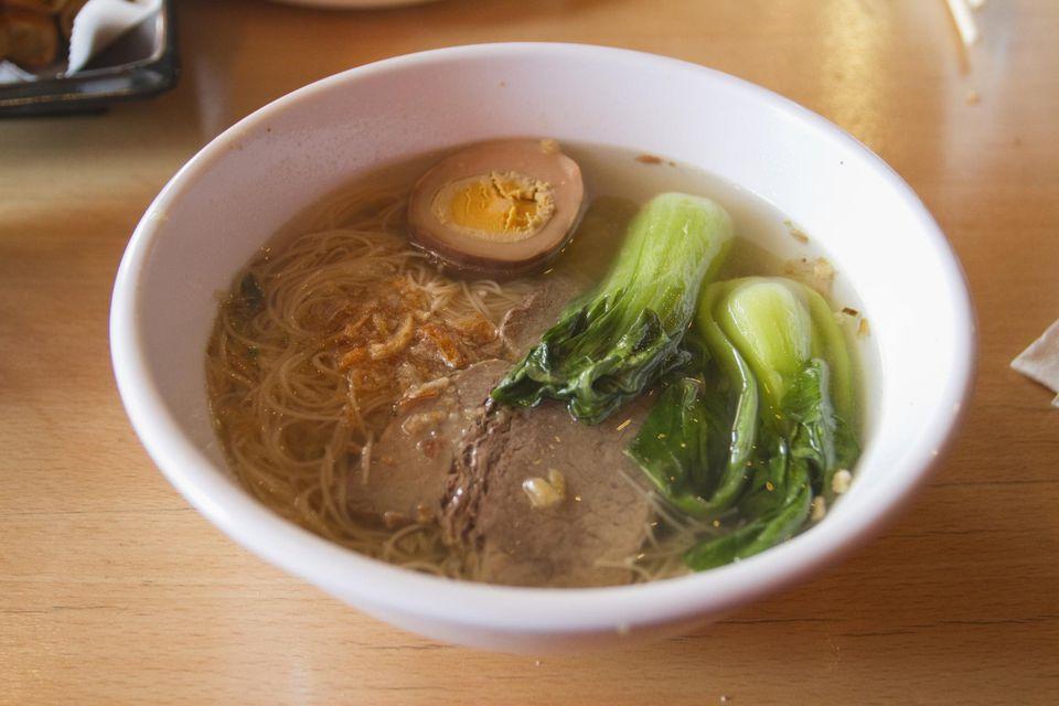 Bok Choy Chicken Soup
