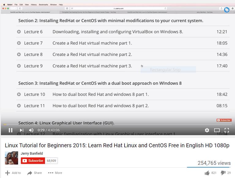 Linux Training On Youtube