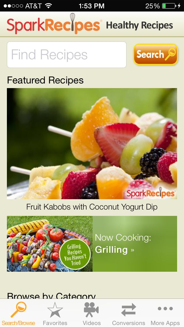 5 healthy recipe apps to help you lose weight sparkrecipes app forumfinder Choice Image