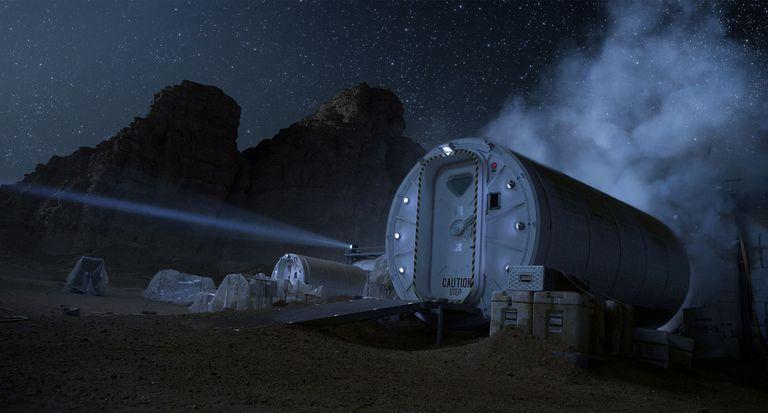 Hábitat marciano