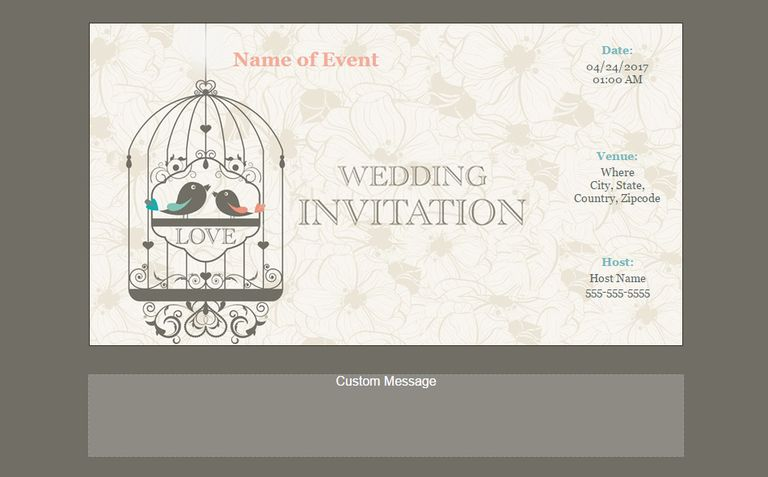 123 invitations free online wedding invites - Wedding Invitations Online