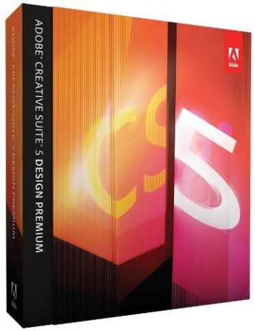 Adobe CS5 Design Premium Box Shot
