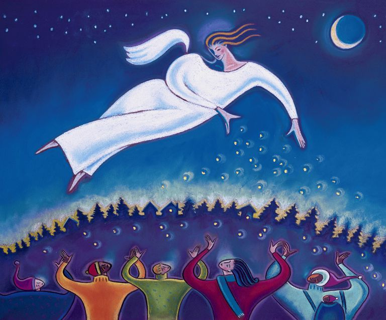 Archangel Gabriel and dreams