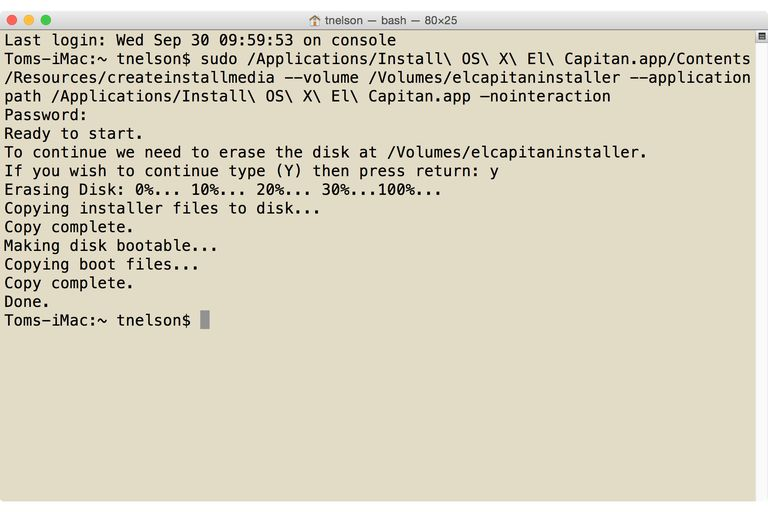 how to create a bootable usb on a mac