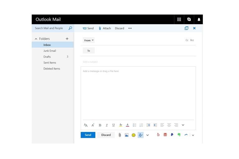 Outlook Mail New Message