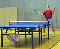 Photo of table tennis player
