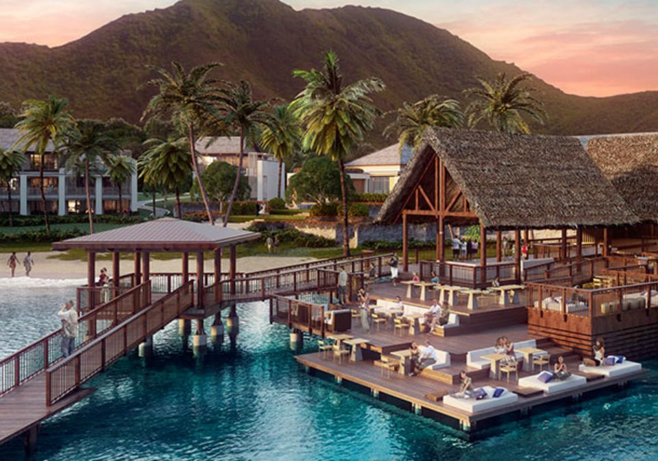 Park Hyatt St Kitts Opening 2017