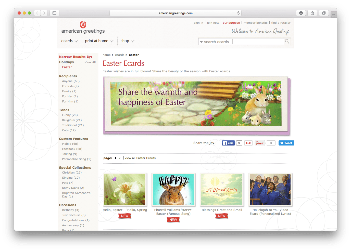 Top 25 favorite sites to send easter greetings kristyandbryce Gallery