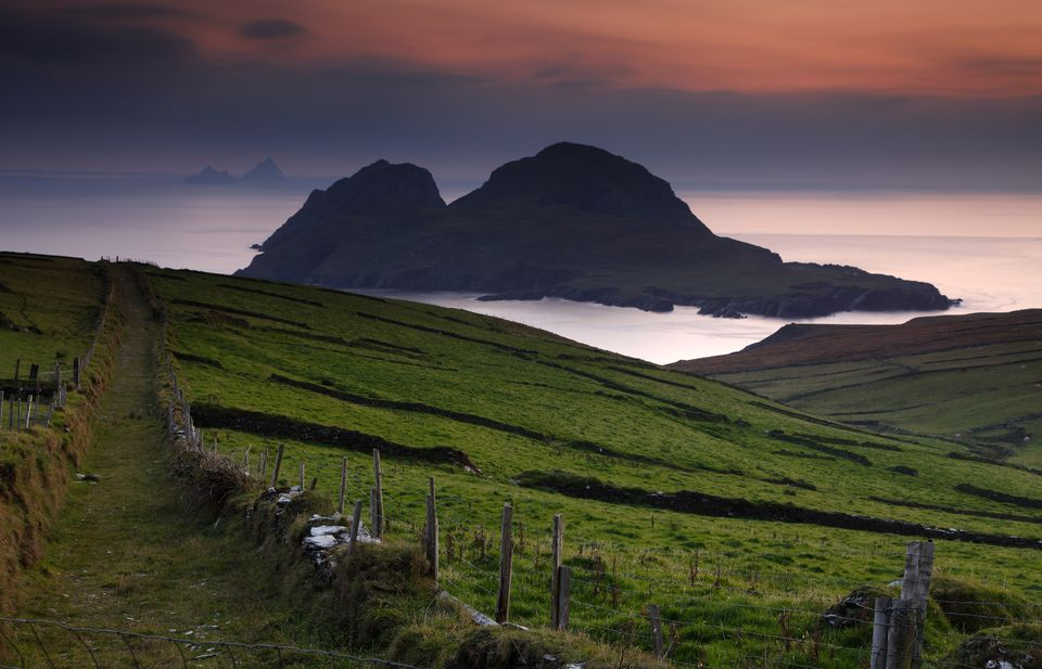Puffin Island on the Kerry coast - and on the Wild Atlantic Way