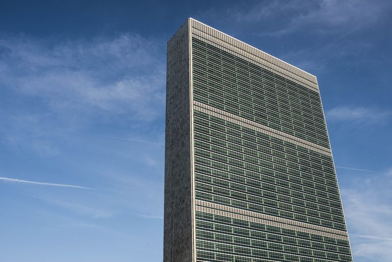 International Style Of The United Nations Secretariat Building