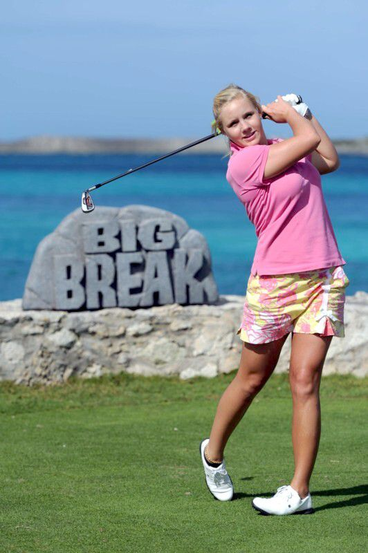 Big break atlantis cast of golfers for Big fish golf