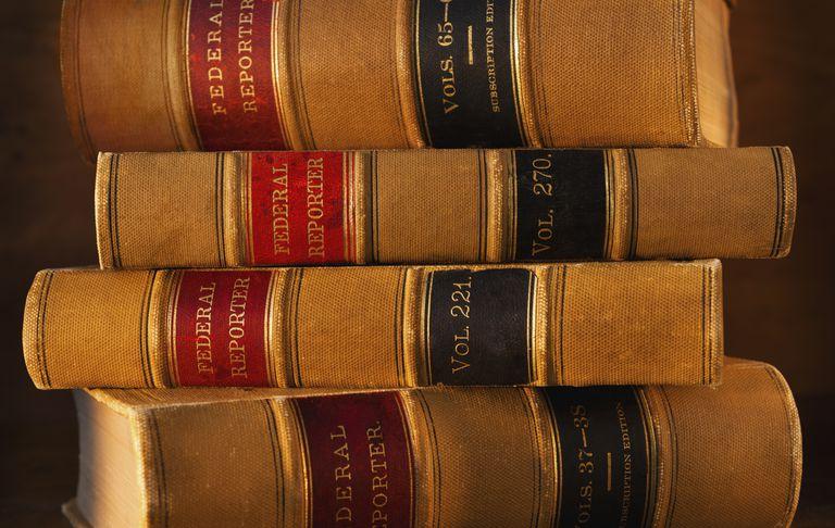 Libros de leyes federales. La deportación es competencia federal, no de los estados.