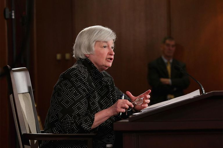 Federal Reserve Chairwoman Janet Yellen
