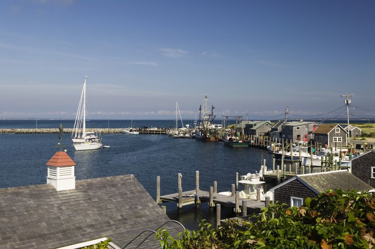 Image of a Harbor in Martha's Vineyard