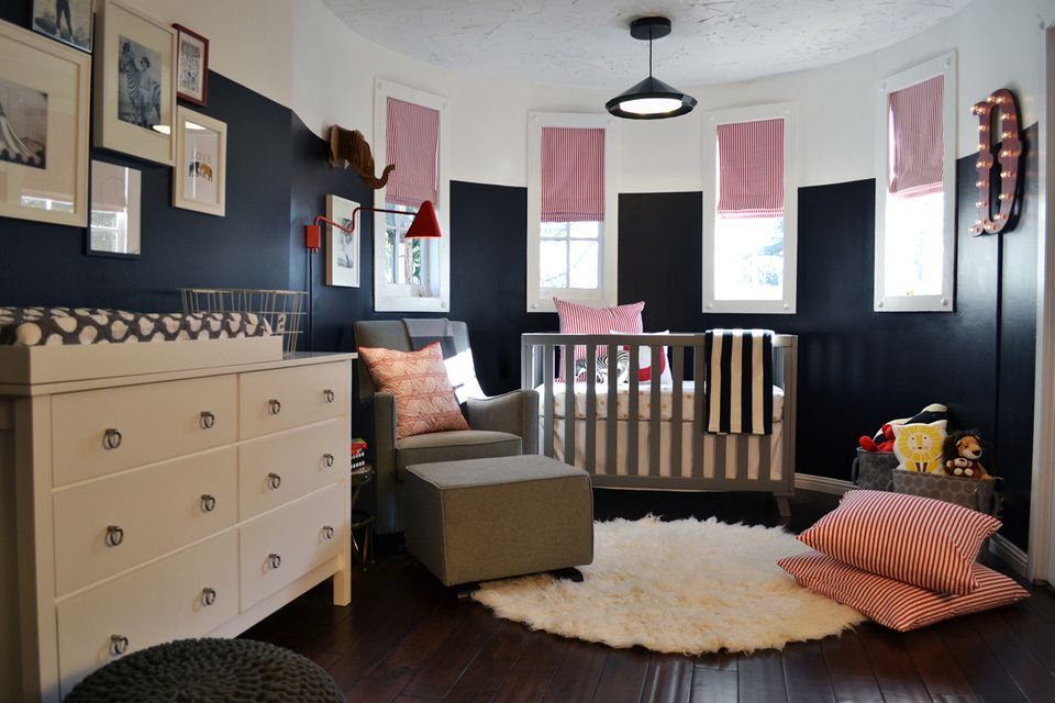 A Modern Nursery Goes To The Circus