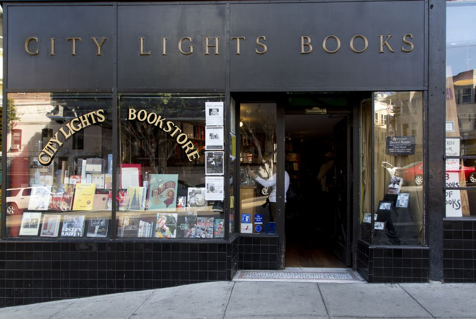 City Lights bookstore, San Francisco, California