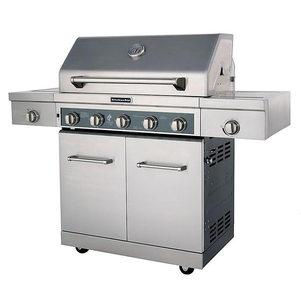 Learn About The Big And Shiny Kitchenaid 5 Burner Gas Grill