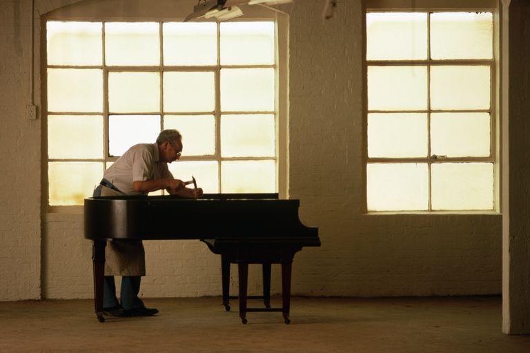 Frank Urich Refurbishing a 1903 Steinway & Sons Piano
