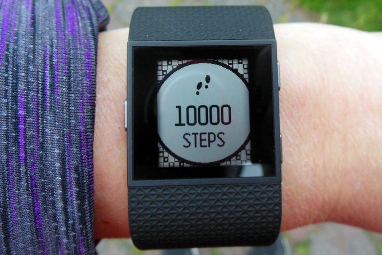 Fitbit Surge - 10,000 Steps Congratulations