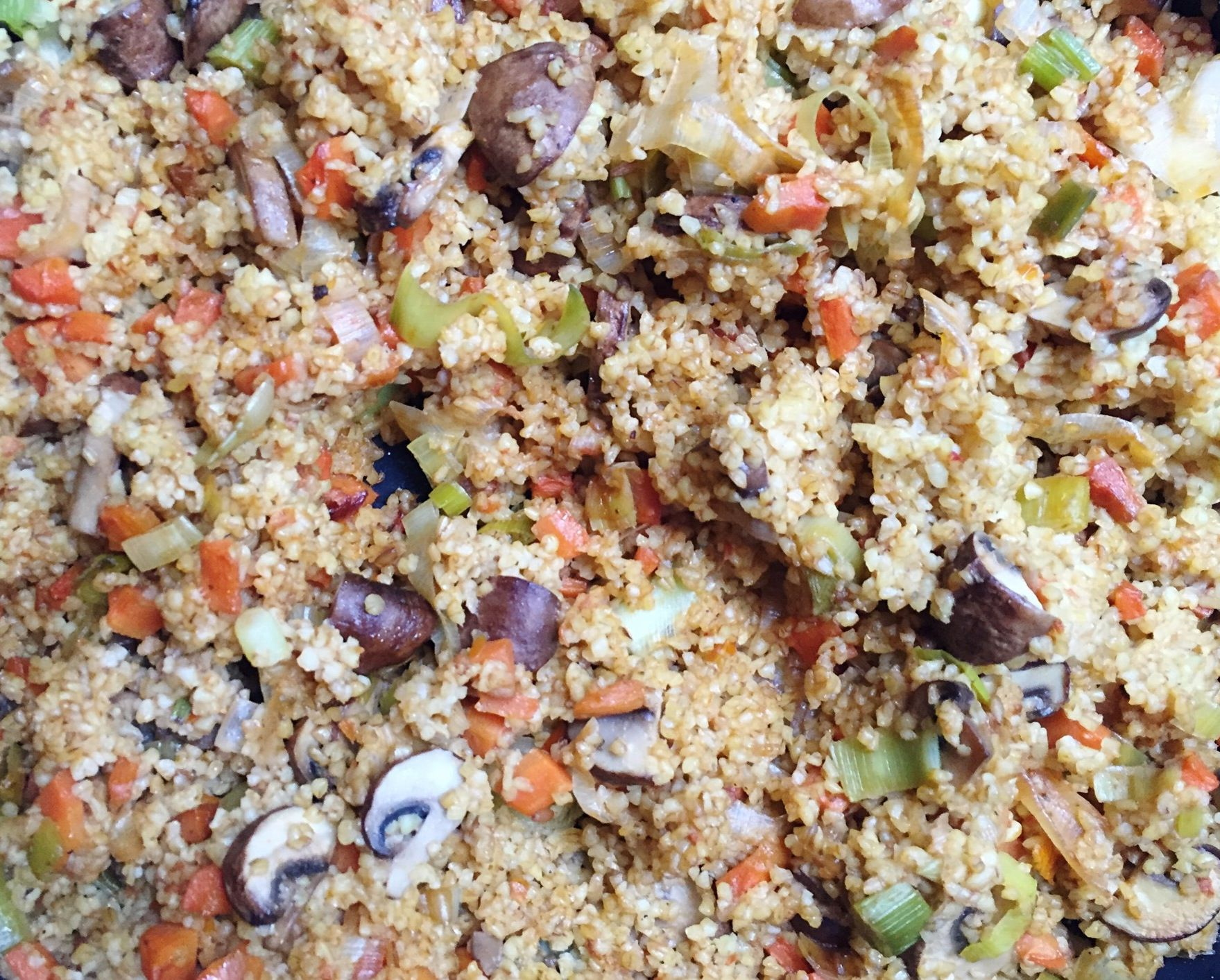 how to cook coarse bulgur wheat