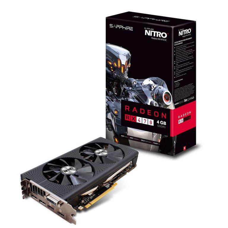 Sapphire Technology NITRO+ Radeon RX 470 4GB PCI-Express Graphics Card