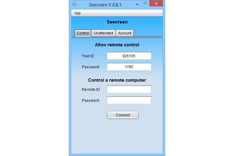 Screenshot of Seecreen