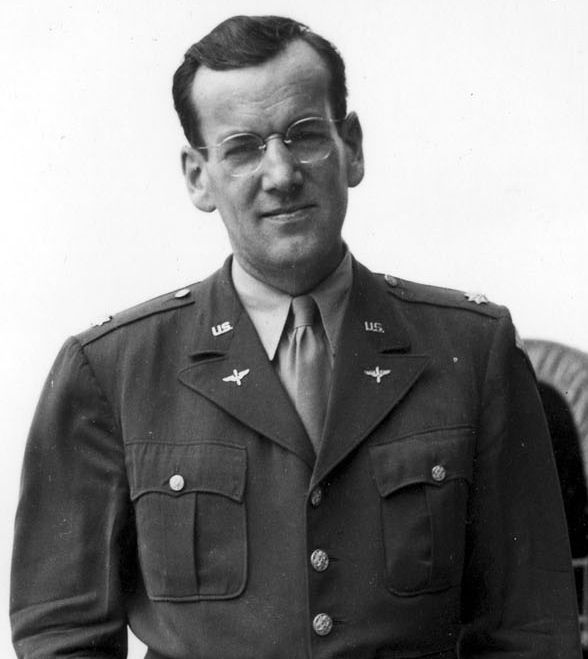 Major Glenn Miller as part of the Army Air Corps