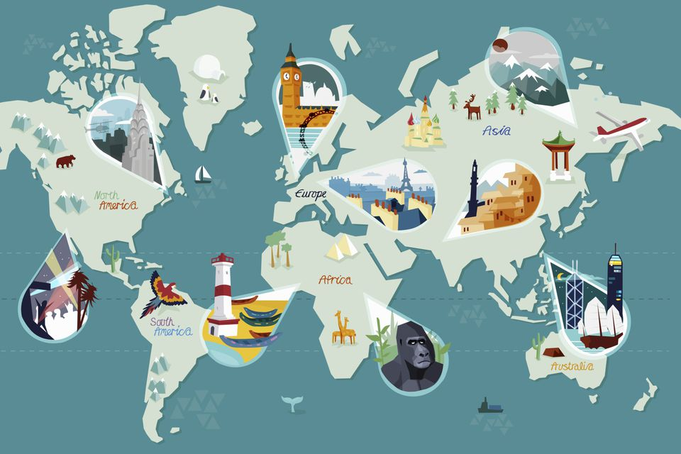 Plan your next vacation with the help of a travel agent.
