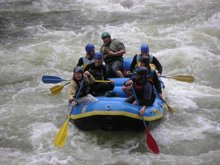Whitewater Rafting in West Virginia's Cheat River