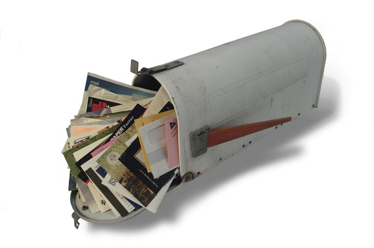 stuffed mailbox