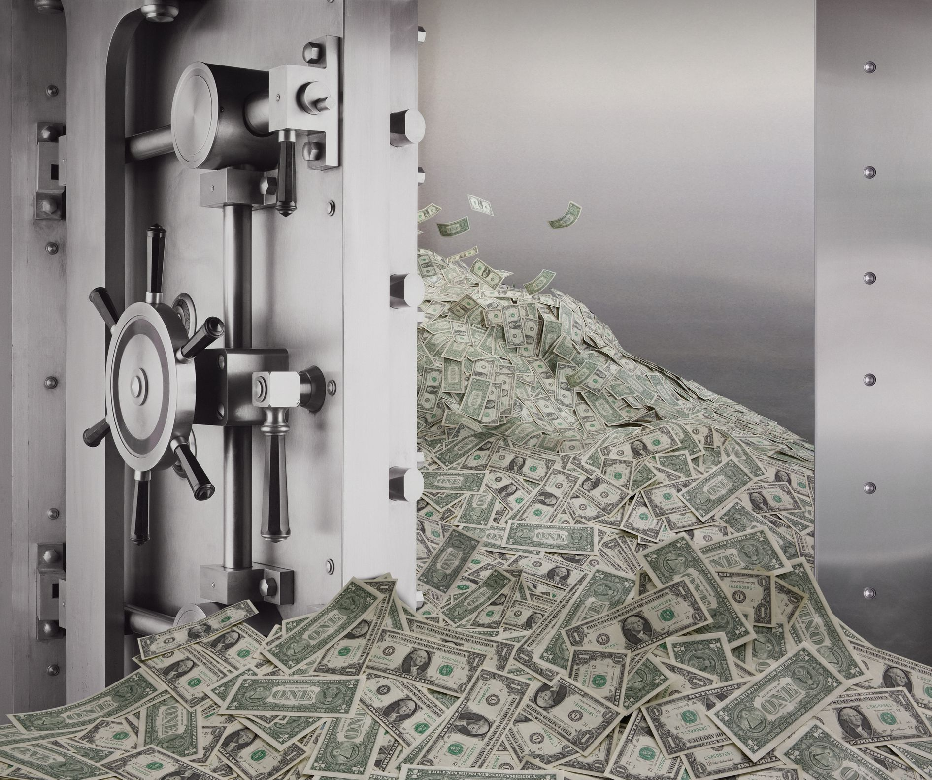 money pouring out of a bank vault 109707297 575a03713df78c9b464a1bf6
