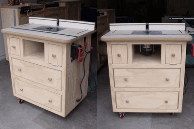 diy vanity table plans. Build a Router Table with These Free Downloadable DIY Plans 11 Bathroom Vanity You Can Today