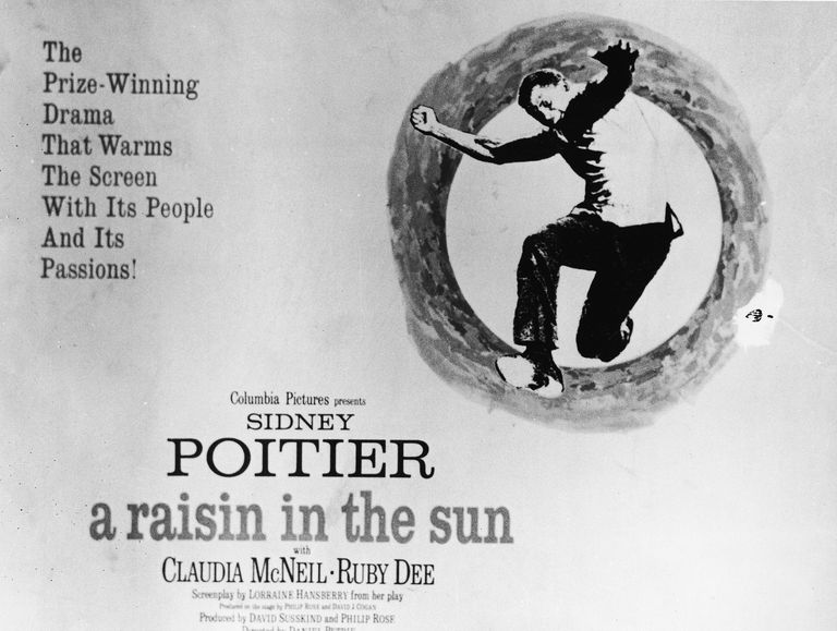"Poster for film adaptation of ""A Raisin in the Sun"""