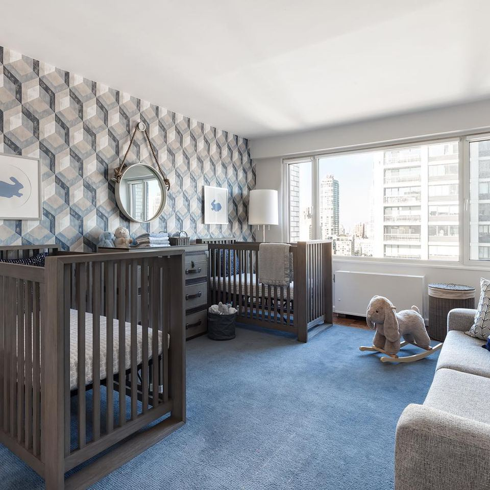 20 Beautiful Baby Boy Nursery Room Design Ideas Full Of: 18 Inspiring Twin Nursery Ideas