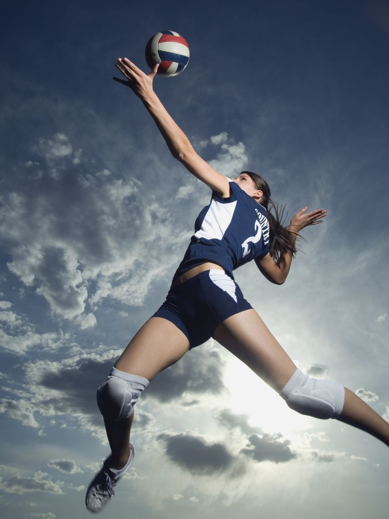 Jump serve volleyball