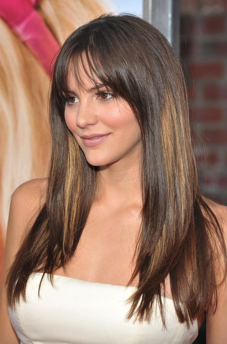 20 flattering hairstyles for long face shapes katherine mcphee hairstylesg urmus