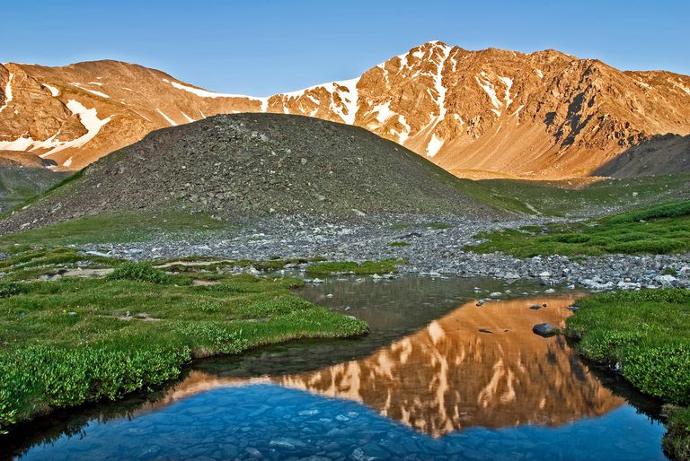 Grays and Torreys Peaks are named for famous 19th-century botanists.