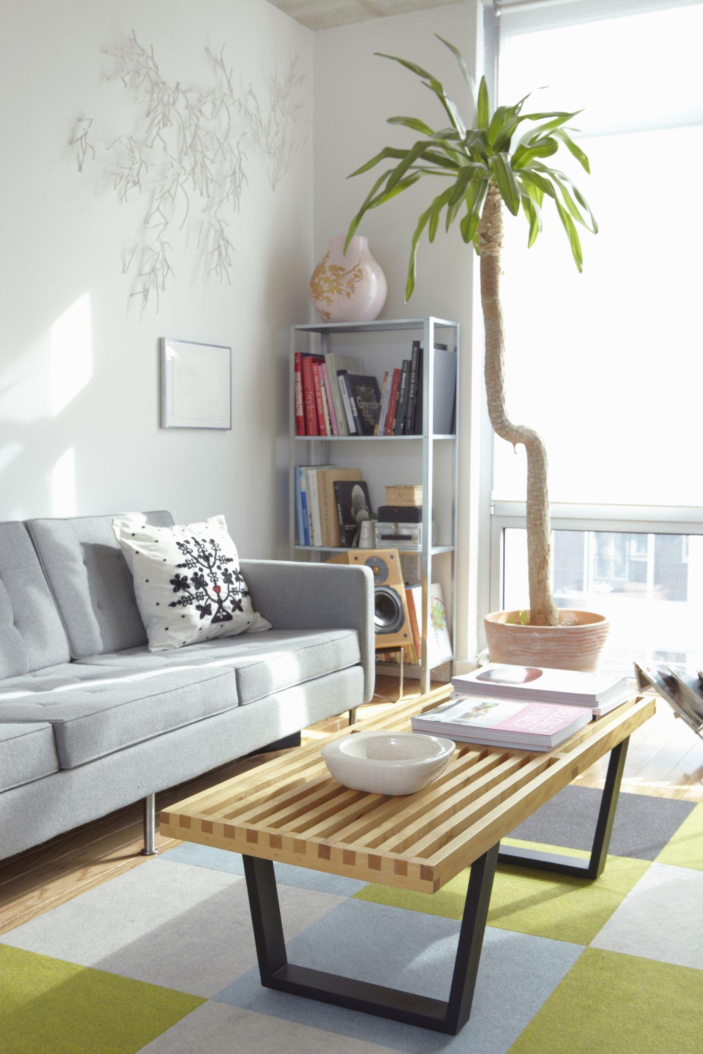 Siete maneras de ganar espacio en la sala