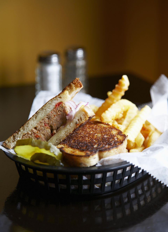 Grilled Meatloaf Sandwich