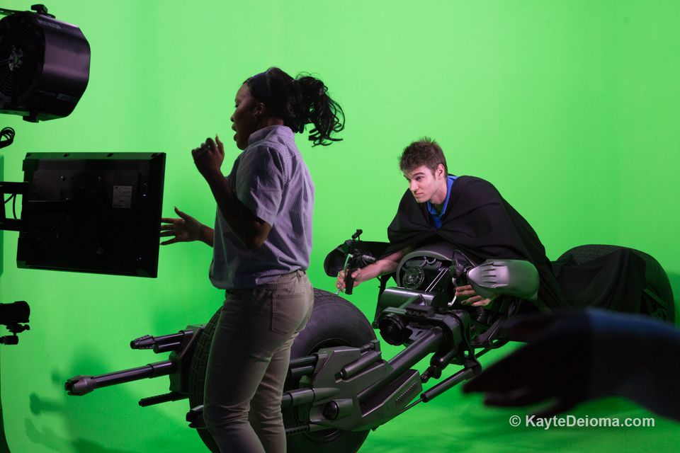 The Green Screen Experience at Stage 48 on the Warner Bros. Studio Tour Hollywood