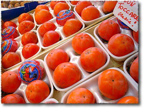 Frutta e verdura italian fruits and vegetables for Cachi persimon