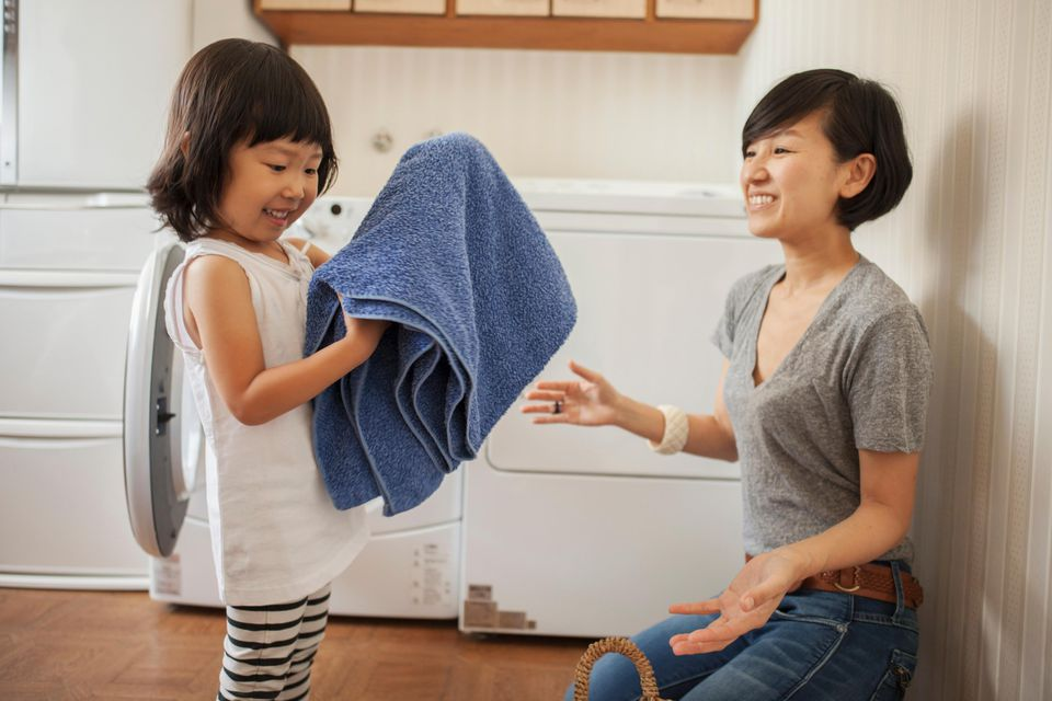 Are you curious what chores your kids can handle? Check out this list.