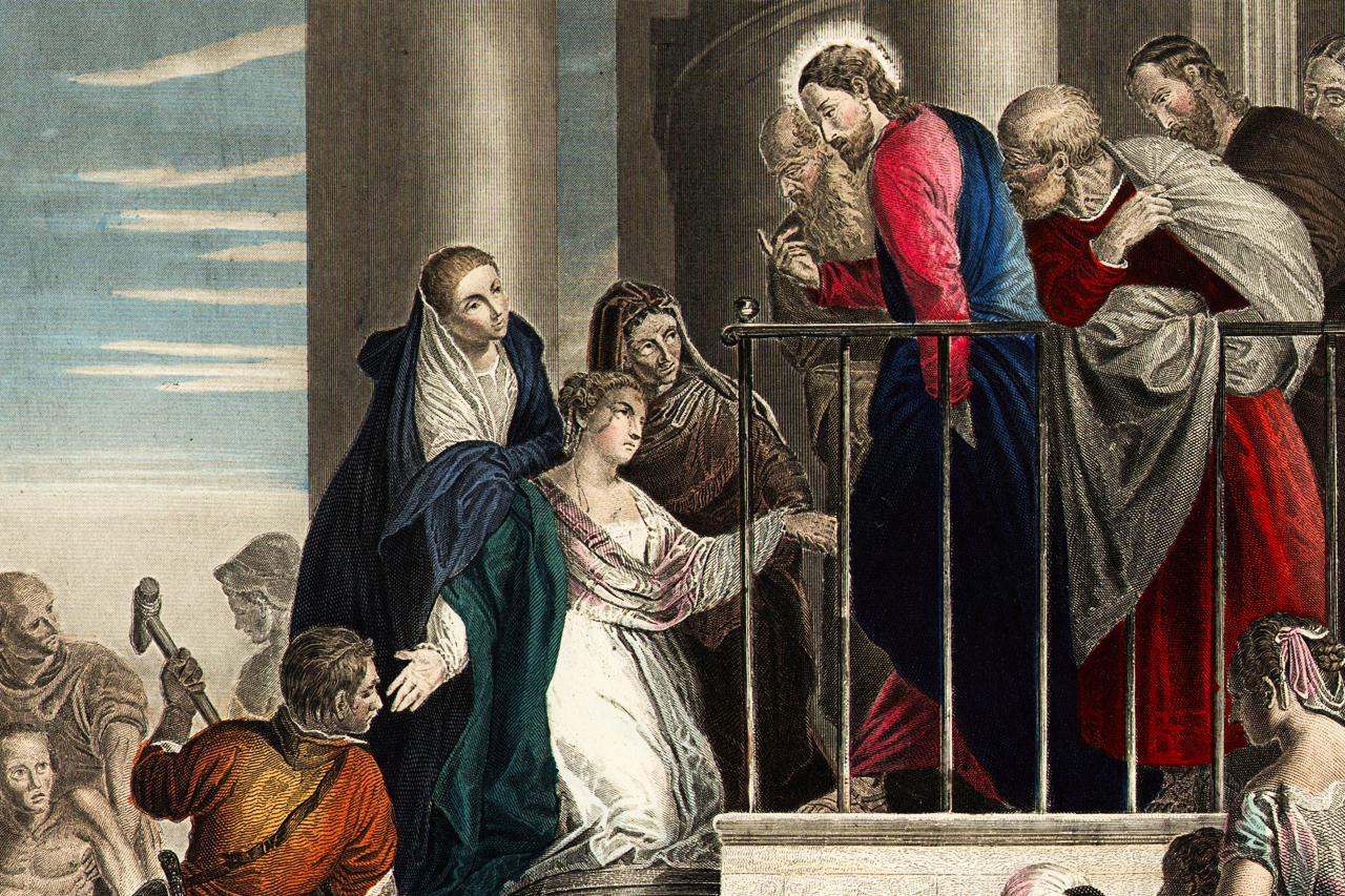 Jesus Heals Jairus Daughter Mark 5 35 43 Bible Analysis