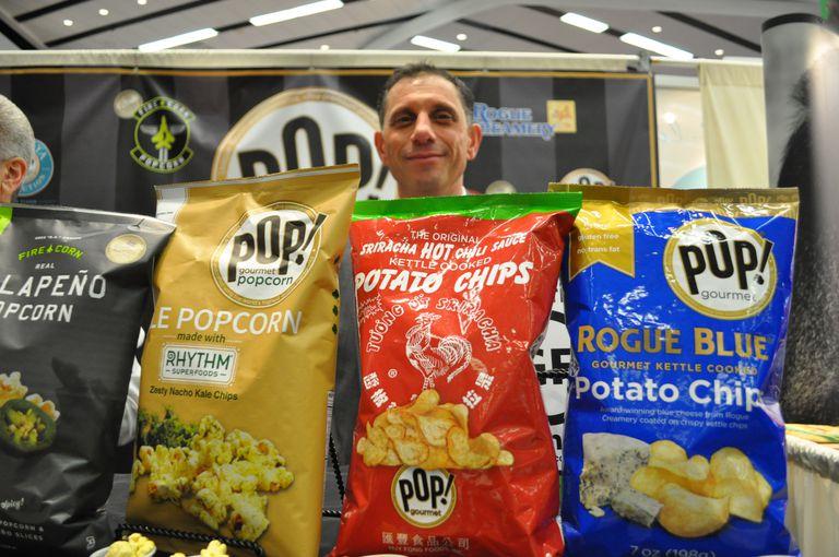 pop! chips co-branded popcorn