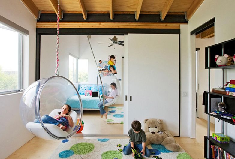 6 Enchanting Hanging Bubble Chairs for Kids